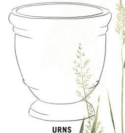 Planters by Shape | Urns