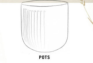 Planters by Shape | Pots