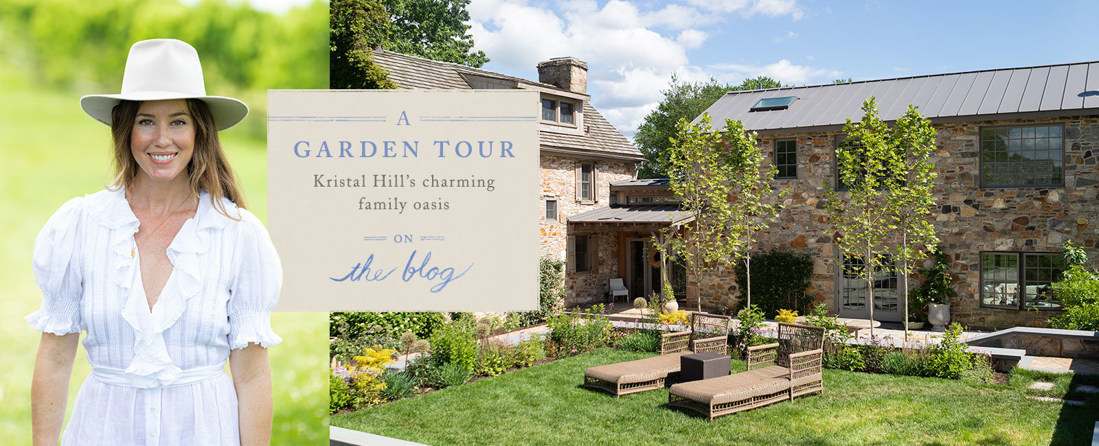 A gorgeous Chestnut Hill, PA Garden Tour | On the Blog