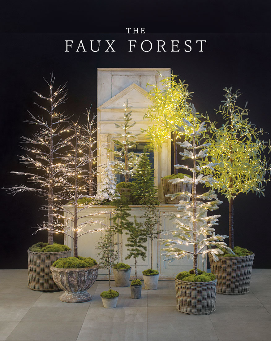The Faux Forest