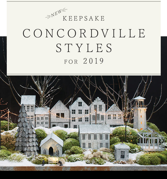 NEW Keepsake Concordville Styles for 2019