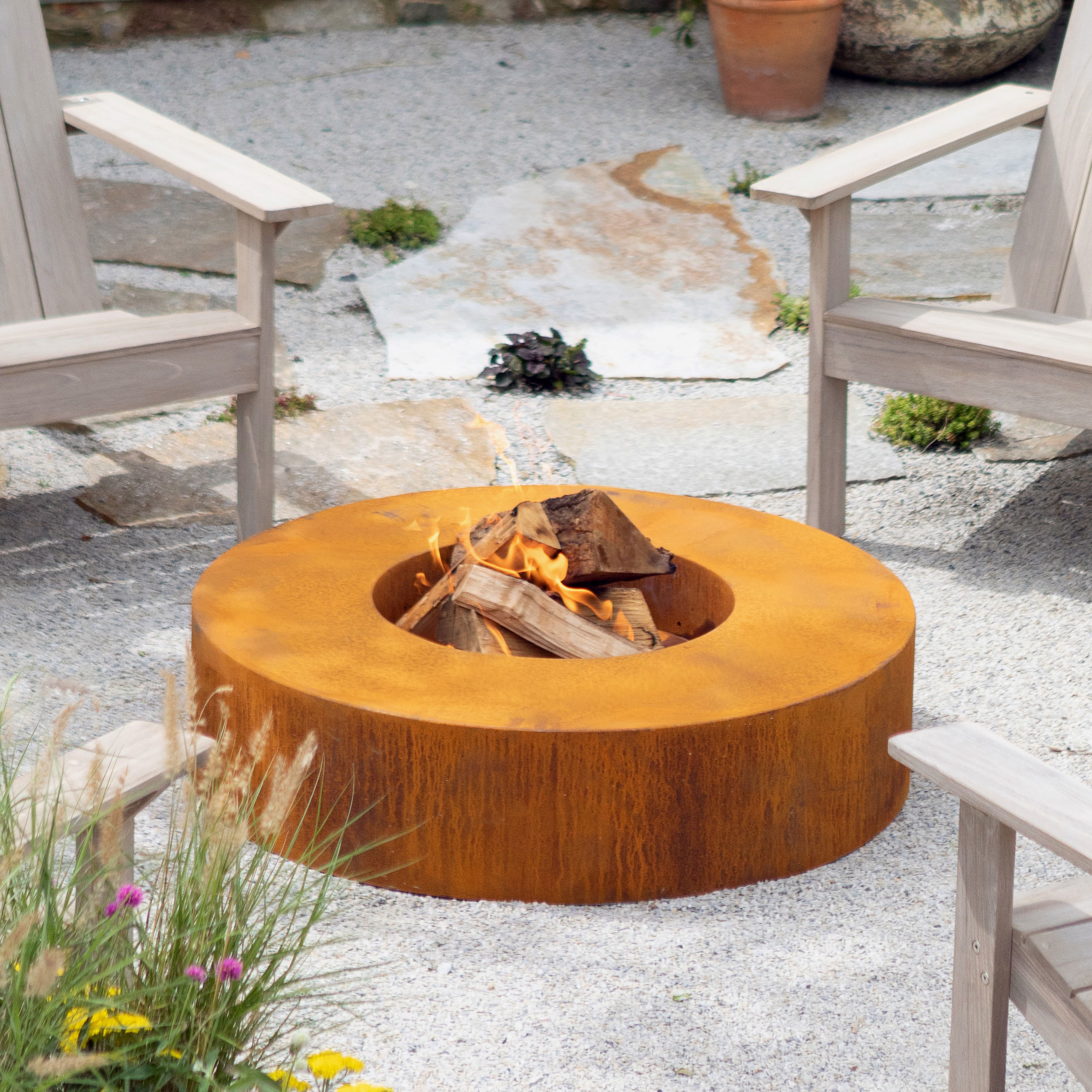 New Copper Fire Pits