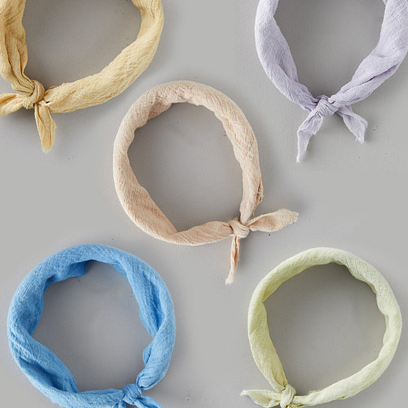Plant-dyed Bandanas | In 5 hues, inspired by nature's earthy color palette