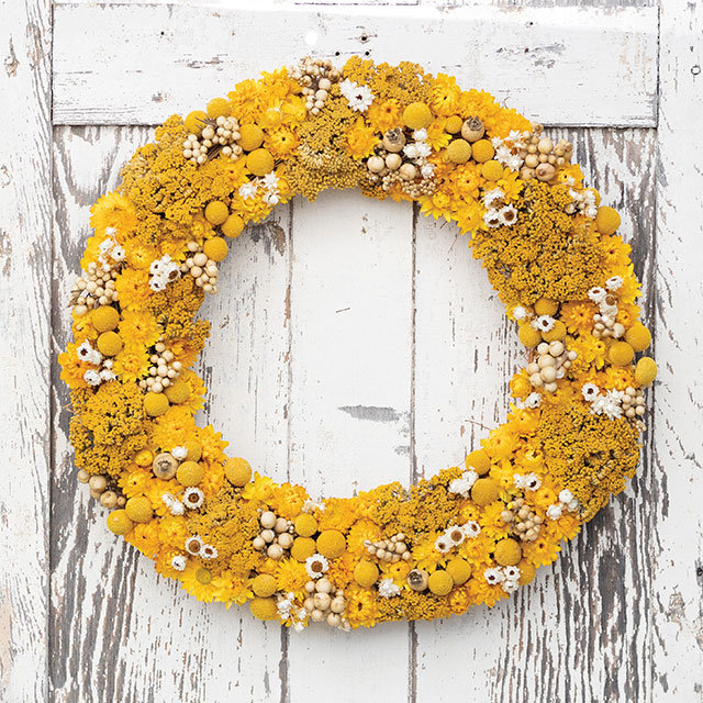 Botanical Wreaths | cheerful + bright to welcome warmer weather