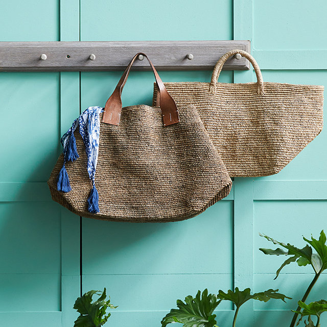 Raffia Tote Bags | sustainably handmade in Madagascar