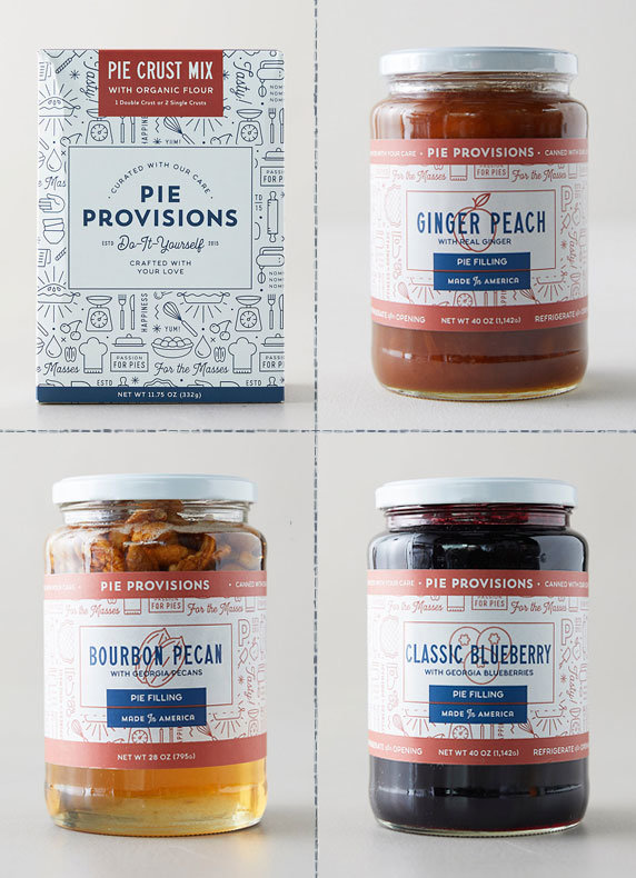 Pie Making Kits | fillings made with Georgia fruits