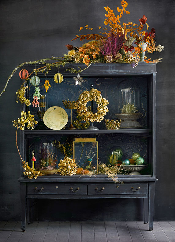 A Cabinet of Curiosities | Our most special seasonal décor