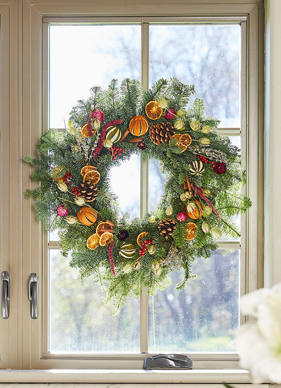 Fresh + Fragrant Wreaths | Not just for the doorstep